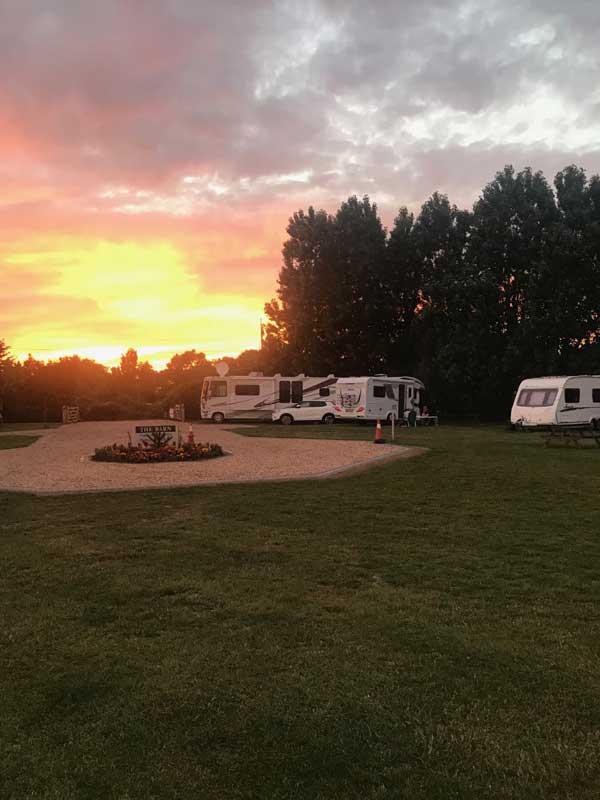 Lancing Barn Caravan Park