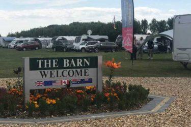 Welcome to Lancing Barn Caravan Park